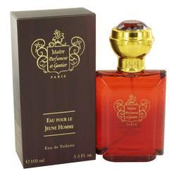 Eau Pour Le Jeune Homme Cologne by Maitre Parfumeur et Gantier 3.3 oz Eau De Toilette Spray