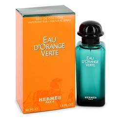 Eau D'orange Verte Perfume by Hermes 1.7 oz Eau De Cologne Spray (Unisex)