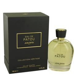Eau De Patou Cologne by Jean Patou 3.4 oz Eau De Toilette Spray (Heritage Collection Unisex)