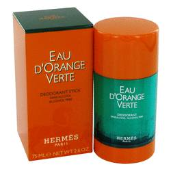 Eau D'orange Verte Cologne by Hermes 2.5 oz Deodorant Stick (Unisex)