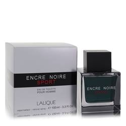 Encre Noire Sport Cologne by Lalique, 3.3 oz Eau De Toilette Spray for Men