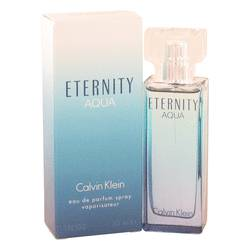 Eternity Aqua Perfume by Calvin Klein 1 oz Eau De Parfum Spray