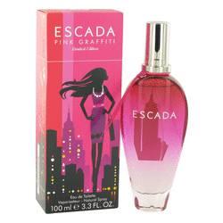 Escada Pink Graffiti Perfume by Escada 3.3 oz Eau De Toilette Spray