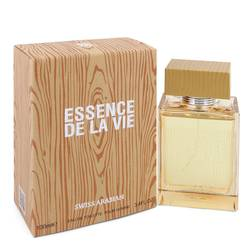 Essence De La Vie Cologne by Swiss Arabian 3.4 oz Eau De Toilette Spray