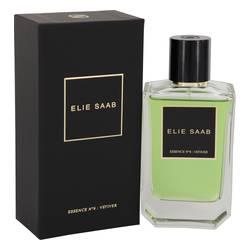 Essence No 6 Vetiver Perfume by Elie Saab 3.3 oz Eau De Parfum Spray