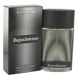 Zegna Intenso Cologne by Ermenegildo Zegna 3.4 oz Eau De Toilette Spray