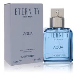 Eternity Aqua Cologne by Calvin Klein 1.7 oz Eau De Toilette Spray