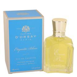 Etiquette Bleu Perfume by D'orsay, 3.4 oz Eau De Toilette Spray (Unisex) for Women