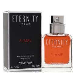 Eternity Flame Cologne by Calvin Klein 3.4 oz Eau De Toilette Spray