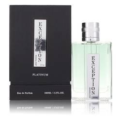 Exception Platinum Cologne by YZY Perfume 3.4 oz Eau De Parfum Spray