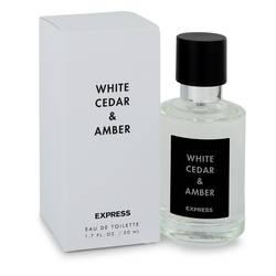 White Cedar & Amber Perfume by Express 1.7 oz Eau De Toilette Spray