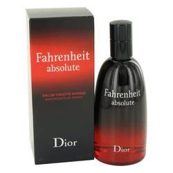 Fahrenheit Absolute Cologne by Christian Dior 3.4 oz Eau De Toilette Spray