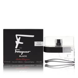 F Black Cologne by Salvatore Ferragamo 1 oz Eau De Toilette Spray