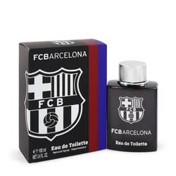 Fc Barcelona Black Cologne by Air Val International, 3.4 oz Eau De Toilette Spray for Men