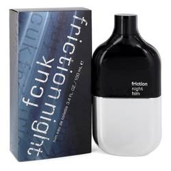 Fcuk Friction Night Cologne by French Connection 3.4 oz Eau De Toilette Spray