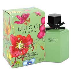 Flora Emerald Gardenia Perfume by Gucci 1.6 oz Eau De Toilette Spray (Limited Edition Packaging)