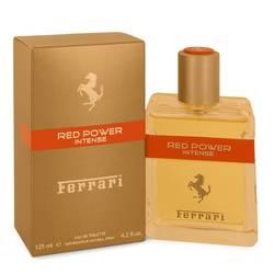 Ferrari Red Power Intense Cologne by Ferrari 4.2 oz Eau De Toilette Spray