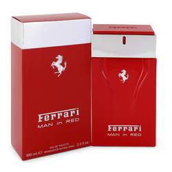 Ferrari Man In Red Cologne by Ferrari 3.4 oz Eau De Toilette Spray