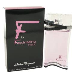 F For Fascinating Night Perfume by Salvatore Ferragamo 3 oz Eau De Parfum Spray