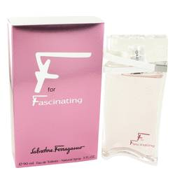 F For Fascinating Perfume by Salvatore Ferragamo 3 oz Eau De Toilette Spray