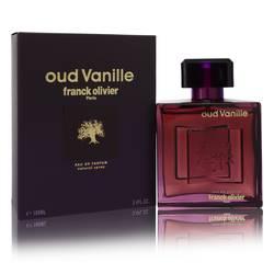 Franck Olivier Oud Vanille Cologne by Franck Olivier 3.4 oz Eau De Parfum Spray (Unisex)