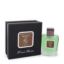 Franck Boclet Geranium Perfume by Franck Boclet 3.4 oz Eau De Parfum Spray (Unisex)