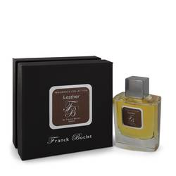 Franck Boclet Leather Cologne by Franck Boclet 3.4 oz Eau De Parfum Spray