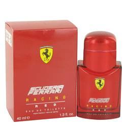 Ferrari Scuderia Racing Red Cologne by Ferrari 1.3 oz Eau De Toilette Spray