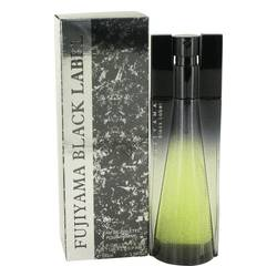 Fujiyama Black Label Cologne by Succes De Paris 3.4 oz Eau De Toilette Spray