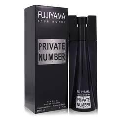 Fujiyama Private Number Cologne by Succes De Paris 3.3 oz Eau De Toilette Spray