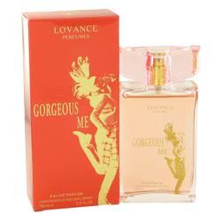 Gorgous Me Perfume by Lovance, 3.4 oz Eau De Toilette Spray for Women