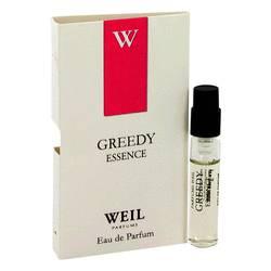 Greedy Essence Perfume by Weil 0.05 oz Vial (sample)