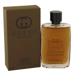 Gucci Guilty Absolute Cologne by Gucci 1.6 oz Eau De Parfum Spray