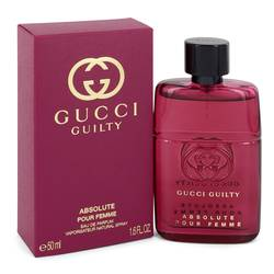 Gucci Guilty Absolute Perfume by Gucci 1.7 oz Eau De Parfum Spray