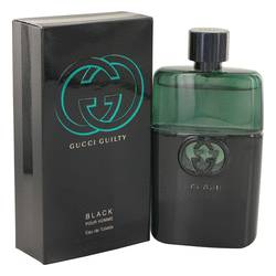 Gucci Guilty Black Cologne by Gucci 3 oz Eau De Toilette Spray