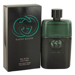 Gucci Guilty Black Cologne by Gucci 3.4 oz After Shave