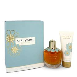 Girl Of Now Perfume by Elie Saab -- Gift Set - 3 oz Eau De Parfum Spray + 2.5 oz Body Lotion