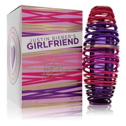 Girlfriend Perfume by Justin Bieber 3.4 oz Eau De Parfum Spray