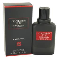 Gentlemen Only Absolute Cologne by Givenchy 1.7 oz Eau De Parfum Spray