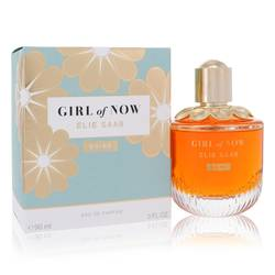 Girl Of Now Shine Perfume by Elie Saab 3 oz Eau De Parfum Spray