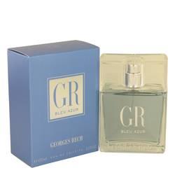 Blue Azur Cologne by Georges Rech, 3.3 oz Eau DE Toilette Spray for Men