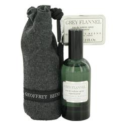 Grey Flannel Cologne by Geoffrey Beene 2 oz Eau De Toilette Spray Pouch