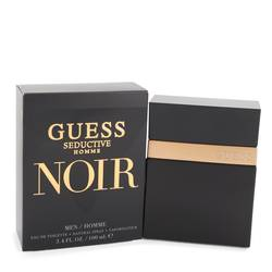 Guess Seductive Homme Noir Cologne by Guess 3.4 oz Eau De Toilette Spray