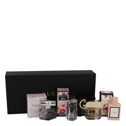 Gucci Bloom Perfume by Gucci -- Gift Set - Gucci Travel Set Includes .16 oz Mini EDP Gucci Bamboo, .16 oz Mini EDT Gucci Guilty,.16 oz Mini EDT Flora Gorgeous Gardenia and.16 oz Min EDP Gucci Bloom