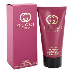 Gucci Guilty Absolute Cologne by Gucci 5 oz Body Lotion