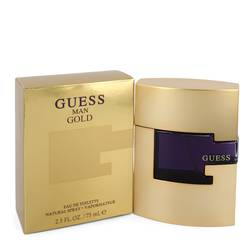 Guess Gold Cologne by Guess 2.5 oz Eau De Toilette Spray