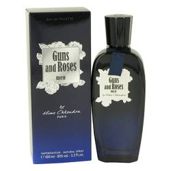 Guns And Roses Cologne by Mimo Chkoudra 3.3 oz Eau De Toilette Spray
