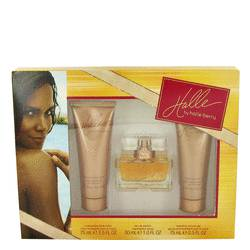 Halle Perfume by Halle Berry -- Gift Set - 1 oz Eau De Parfum + 2.5 oz Body Lotion + 2.5 oz Shower Gel