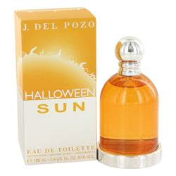 Halloween Sun Perfume by Jesus Del Pozo 3.4 oz Eau De Toilette Spray