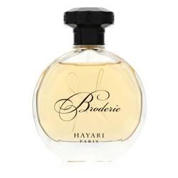 Hayari Borderie Perfume by Hayari 3.4 oz Eau De Parfum Spray (unboxed)